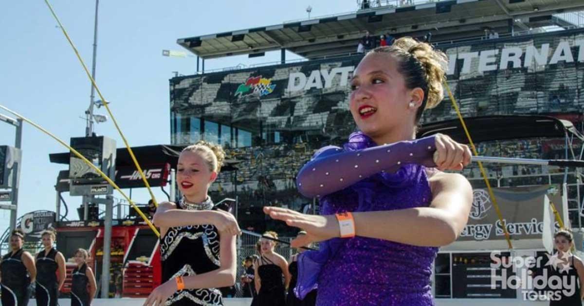 The Daytona 500 Mass Band Performance